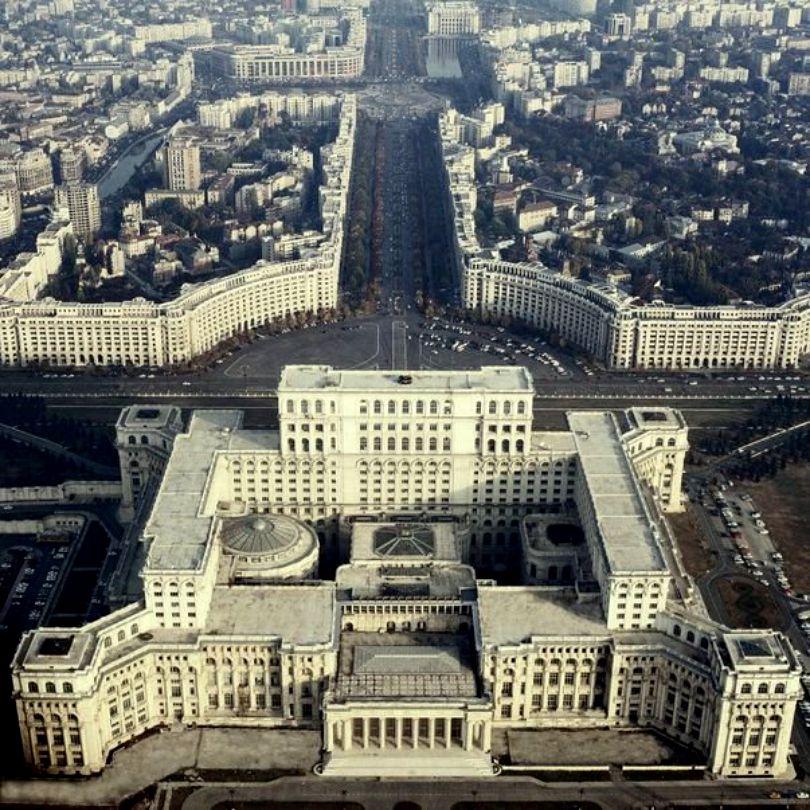 Parliament House Or Casa Poporului Bucharest Channel4travel Com